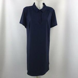 IDEOLOGY Blue Short Sleeve Dress Size 2X